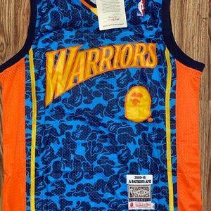 Golden State Warriors x BAPE Basketball Jersey